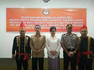 Panwas Sulut, Wakil Bupati ,Frangky Donny Wongkar
