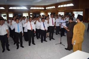 LPM Kota Bitung, Lembaga Pemberdayaan Masyarakat , max lomban,  Richard Tirajoh SH,
