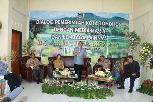 Dialog Pemerintah Kota Tomohon, media massa dan lembaga lainnya tentang TIFF 2017