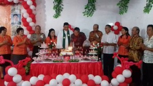Desa Malenos Baru, Wabup FDW,  Frangky Donny Wongkar