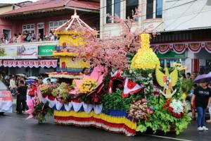 Kendaraan Hias Bunga akan ditampilkan di Karnaval Kemerdekaan
