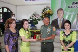 Ketua KOmisi W/KI Sinode GMIM, Sekretaris, Ketua panitia bersama Pangdam XIII/Merdeka