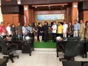 DPRD Tomohon dan DPRD Metro Lampung bersama instansi terkait