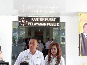 Wali Kota dan Wakil wali Kota Tomohon buat terobosan bangun kantor pelayanan publik