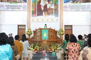 Ibadah Pengucapan Syukur di GMIM Maranatha Paslaten