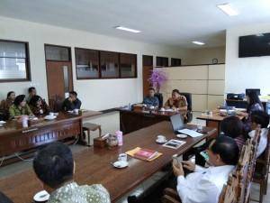 Pertemuan Wali Kota Tomohon dengan BPMS GMIM