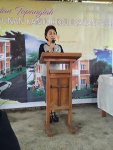 Ir Miky JL Wenur, Ketua Panitia HUT ke-121 Kelurahan Walian