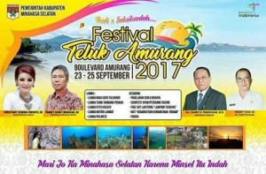 FTA, Polres Minsel , Festival Teluk Amurang,