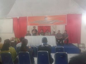 Bawaslu Sulut Gelar Sosialisasi Pemilu Partisipatif Dalam Rangka Pilkada Minahasa 2018