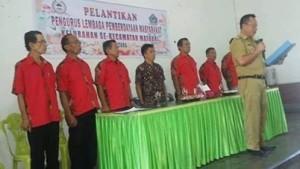 Camat Matuari, Steven Prok, DPC LPK Kecamatan Matuari,