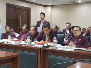 Anggota PPNI saat Rapat Dengar Pendapat Umum dengan DPD-RI