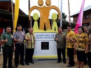 Desa Keroit Dicanangkan Jadi Kampung KB