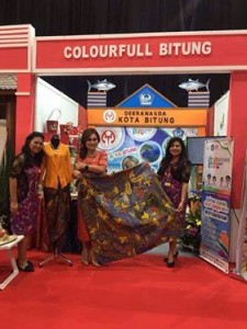 Batik Tulis Corak Yaki ,Dekranas,Khouni Lomban Rawung,