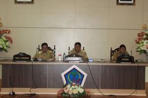 Rapat Kerja Seluruh SKPD,Olly Dondokambey, pejabat Pemprov Sulut