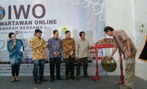 Pembukaan Mubes I IWO di Hotel Puri Mega Jakarta