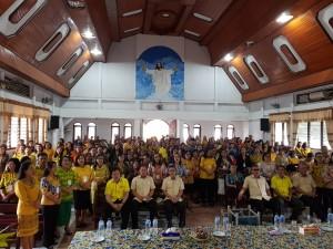 Para kepala sekolah,  pendidik dan tenaga ke pendidikan yang ikut pembekalan/pelatihan