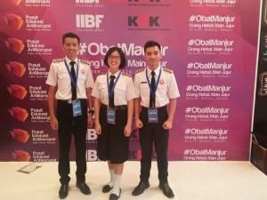 Tiga siswa SMA Kristen 2 Binsus yang bb ikut Debat Anti Korupsi di KPK
