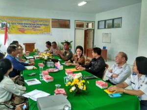 Pertemuan FKDM,  Pemkot Tomohon di Aula Kesbangpol