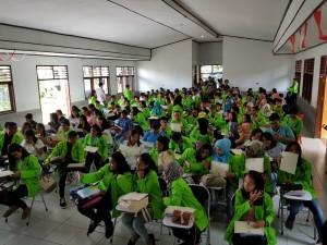 Senator SBAN Liow Sosialisasi Empat Pilar di AKLN Bitung
