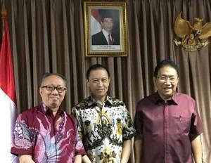 Silangen Rapat dengan Kemenko Maritim dan BKPM Bahas Pembangunan Infrastruktur di Sulut