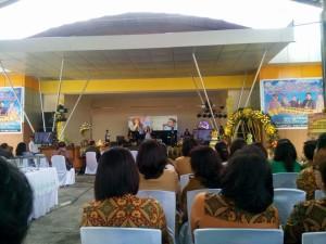 Ibadah KKR HUT ke-42 Wawali Tomohon