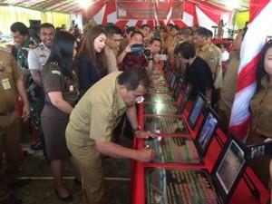 Bupati Resmikan Hasil Kerja Fisik ADD/DD Kecamatan Remboken, Kakas dan Kakas Barat