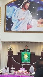 Khadim HUT Ke-19 Jemaat Tumpengan Sea, JWS