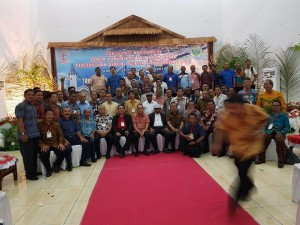 Para peserta Konas ke-11 P/KB di Ambon