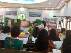 Tomohon Nyonya Rumah Rapat Pemilihan Komisi W/KI Sinode GMIM