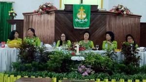 Rapat Konsultasi Tahunan W/KI Sinode GMIM di Jemaat Eben Haezer Watutumou Kalawat