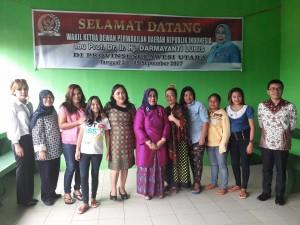 Foto bersama DPD-RI dengan warga para binaan