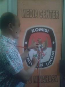 Media Center KPU Minahasa, KPU Minahasa