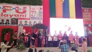 KPU Minahasa ,Launching Tahapan Pilbup 2018,Arief Budiman, SS