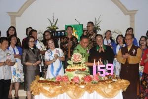Perayaan HUT ke-159 Jemaat GMIM Nafiri Pengolombian
