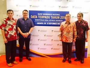 Rakornas Data Terpadu, Kementerian Sosial RI