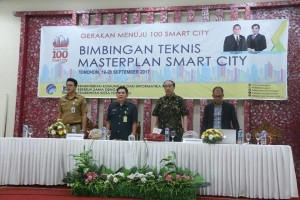 Bimtek Master Plan Smart City di Kota Tomohon