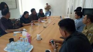 Komisi II DPRD Tomohon sata bertemu Kanwil Kemenkumham