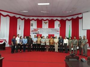 Kunker Komisi I DPRD Tomohon di Tanah Totabuan