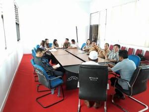 Kunjungan Kerja Komisi I DPRD Tomohon dalam rangka Penyusunan Perda Ketertiban Umum