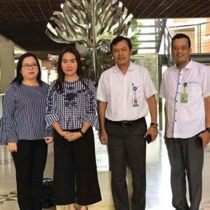 Foto bersama di Kementerian Lingkungan Hidup
