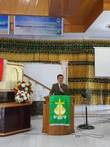 Pengurus Panji Yosua P/KB GMIM Wilayah Serei Dikukuhkan