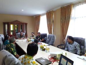Tim penilai diterima Sekretaris Kota dan jajaran