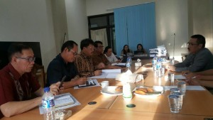 Komisi II DPRD Tomohon Hearing Empat Perangkat Daerah