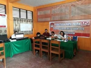 KPU Minsel , Partai Perindo minsel