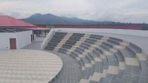 Benteng Moraya, Amfiteater , parawisata minahasa