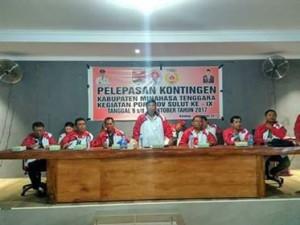 Dilepas Bupati Sumendap, Kontingen Mitra Siap Berlaga di Porprov Sulut 2017