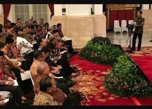 Presiden Jokowi, Bupati Minsel