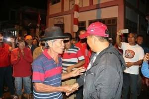 James Sumendap SH, Kecamatan Toulaan, kunker pemkab mitra