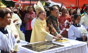 Gereja Katolik St Yosep Pekerja Stasi Tewaan, Kecamatan Ranowulu,