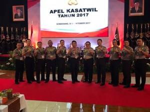 Pesta Demokrasi 2018, Kapolres Minsel , Apel Kasatwil Semarang